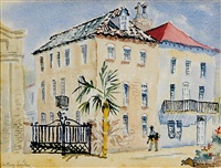 queen street, charleston by edith demay smith