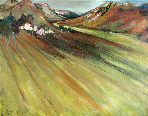 landscape by esther peretz arad