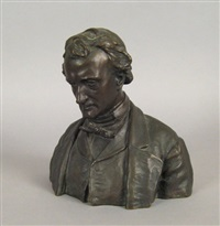 bust of edgar allen poe by edmund thomas quinn