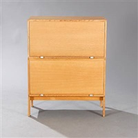 archive cabinet (pair) by henning jensen and torben valeur