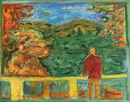 paisaje by juan antonio aguirre