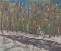 wisconsin winter by francis chapin