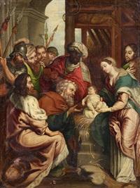 anbetung der könige by anonymous-flemish (17)