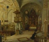 in der klosterkirche maria eck by wladimir linde