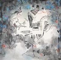 弈棋图 by liu shanmin