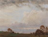 frühlingswolken by otto fikentscher