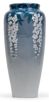 große vase mit glyzinien by stephan peter jakob hjort ussing