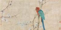 鹦鹉 by jiang hongwei