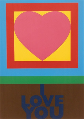 h is for heart from the alphabet series by peter blake