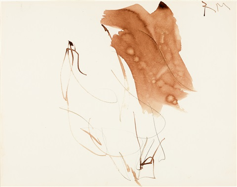 drawing 7 by robert motherwell