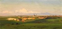 campagnalandschaft bei rom by cäsar metz