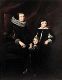 ritratto di famiglia by italian school-genoa (18)