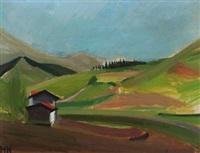 landscape from cestona, spain by søren hjorth-nielsen