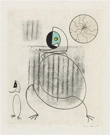 mon fiancé est une idée sugrenue from dorothea tannings oiseaux en péril by max ernst