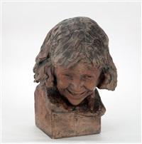 cabeza de niña by silvio monfrini