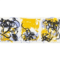 little weeds i by joan mitchell