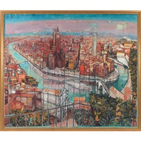 the view of verona by edouard-georges mac-avoy