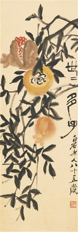 pomegranate by qi baishi