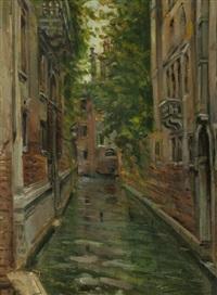 venezia, rio degli albizi by giovanni campriani