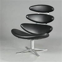 corona lounge chair (model ej 5) by poul volther