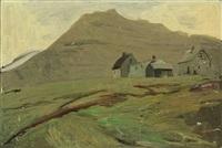 landscape, the faroe islands by joannis kristiansen