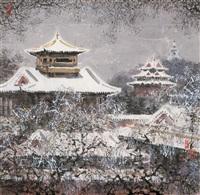 瑞雪图 (auspicious snow) by xu quanqun