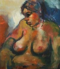 portrait of a woman by adam gabriel