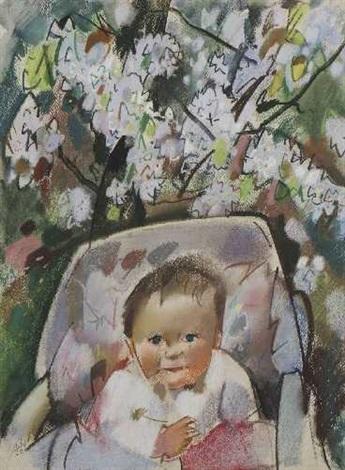 hanna im kinderwagen hanna circa 1963 2 works by otto herbig