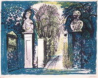 petworth park gates by john piper
