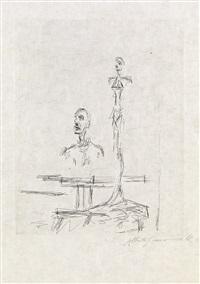 dans l'atelier (from paroles peintes) by alberto giacometti