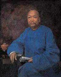 portrait of kang youwei by li tiefu