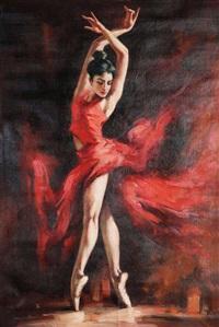 舞蹈少女 by chen xueshu