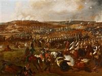 schlacht von borodino. die schlacht an der moskwa bei borodino am 7. september 1812 by albrecht adam