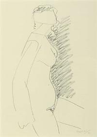 female model by wilhelm freddie