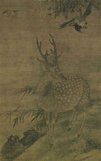 two deers (pair) by anonymous-chinese (15)