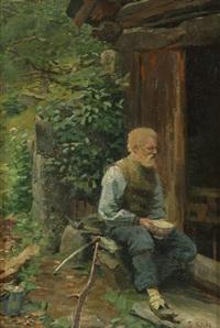 gammel mann by frederik kolstö