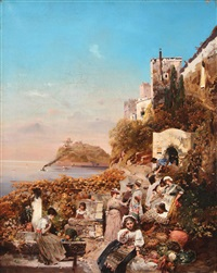 market day along the coast by robert alott