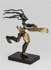 springande kvinna by timo solin