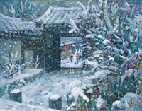 winter in yi mi tai by hong tianxing
