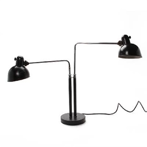 twin desk lamp (model the 6600) by christian dell