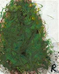 van gogh-übermalung. - van gogh als dieter roth (2 works) by arnulf rainer