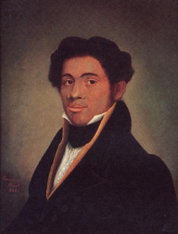 Portrait of Charles Lee Jones, son of Absalom Jones who ...