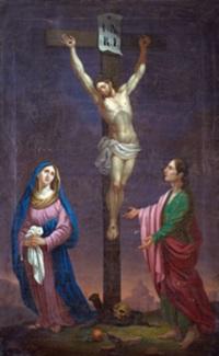 la vierge et saint jean au pied de la croix by lorenz justin ritz