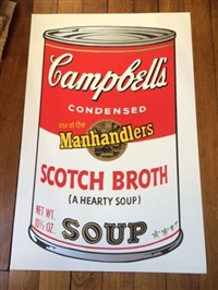 campbell's (set of 10) by andy warhol