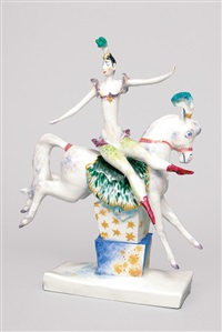 figurine circus princess by peter strang