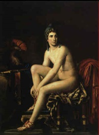 jeune homme au bonnet phrygien by louis david