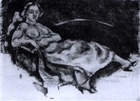 on the sofa by max weber