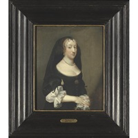 portrait of a lady by pieter van anraedt