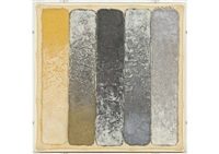 five stripes: alternate gold, pewter to silver by hisahi momose