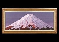 mt. fuji at the dawn by tsutomu moriyu